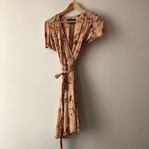 Reformation Penny wrap dress gorgeous vintage look